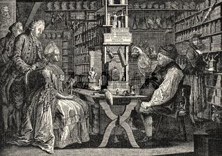 Quack Doctor Michel Schuppach, 1774