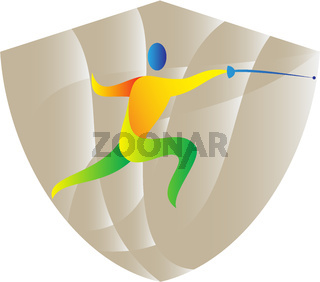 Fencing Side Shield Retro