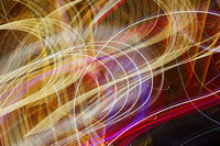 Abstract light trails background