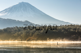 Mountain Fuji Lake saiko