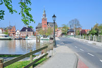 Village of Leer,east Frisia,Germany