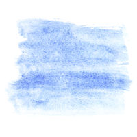 Light blue watercolor strokes