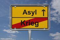 Ende Krieg, Beginn Asyl | End of war, start Asylum
