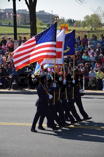 The 2016 National Cherry Blossom Parade in Washington DC