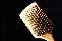 Square hair brush
