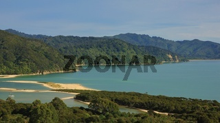 Awaroa Inlet, bay in the Abel Tasman National Park