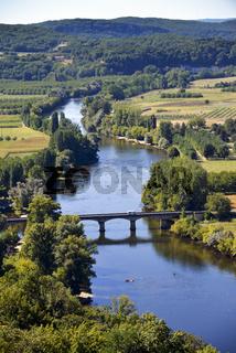 Fluss Dordogne