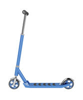 Kick scooter isolated on white
