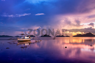 Sunset in El Nido, Palawan - Philippines