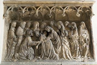 Relief im Kloster St. Emmeram in Regensburg