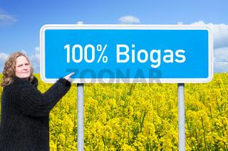 100% Biogas