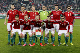 Hungary vs. Norway UEFA Euro 2016 qualifier play-off football match