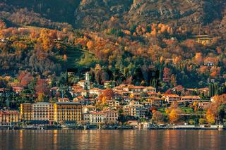 Small town on Lake Como.