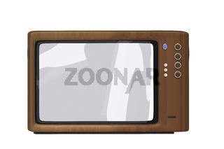 TV, 3D Illustration