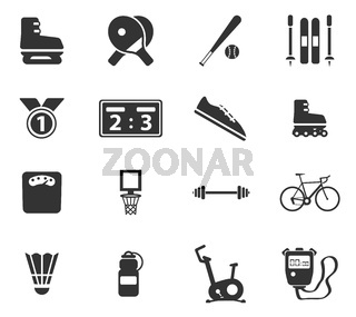 Sport simply icons