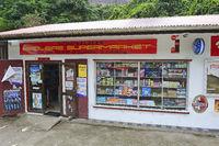 landestypischer Supermarkt,  Insel Mahe, Seychellen