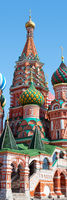The Cathedral of Vasily Red Square Moscow
