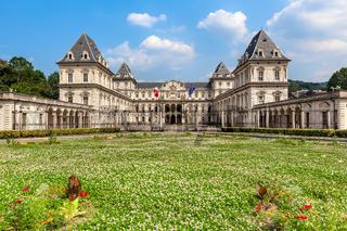 Valentino Castle in Turin, Italy.