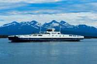 ferry Romsdalsfjord near Molde, Norway