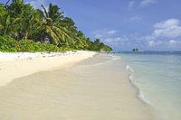 Traumstrand Anse La Reunion, Insel La Digue, Seychellen