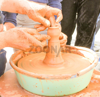 Pottery Work.