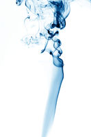 blue smoke abstract background close up