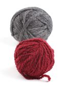 Two ball of wool