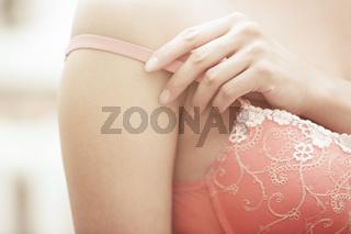 Undressing bra