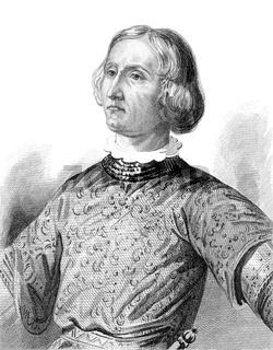 Aymeri VI de Narbonne, c. 1328-1388, 14th century, Admiral of France