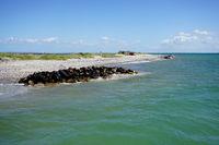 Beach on a Danish island