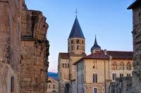Cluny  - Cluny church in France