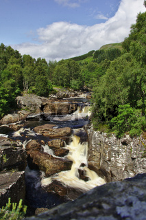 Fluss Black Water in Schottland 1
