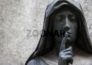 Old Cemetery statue