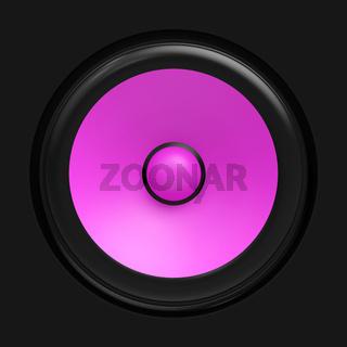 Big pink speaker