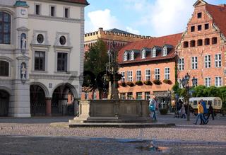 Brunnen am Markt-Lueneburg
