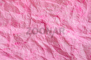 Pink paper background.