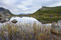Fageravetnet mountain lake