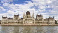 Parliament building in Budapest, Hungary, Europe