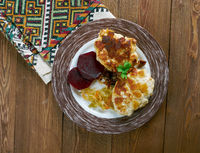 Lithuanian chicken cutlets