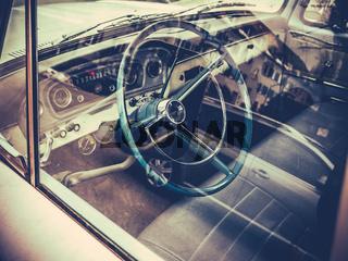 Classic American Truck Interior