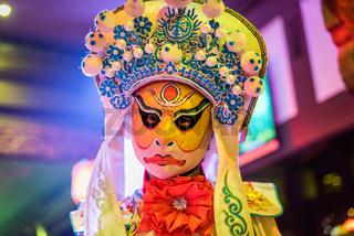 Chengdu Sichuan Opera Face changing