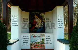 Kapelle auf der Schwaebischen Alb bei Rechtenstein