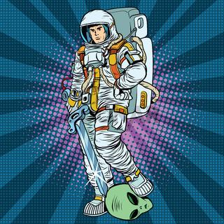 space warrior is the winner alien