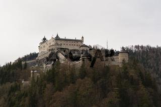 sehenswertes Ausflugsziel Festung Hohenwerfen in Salzburg - Austria