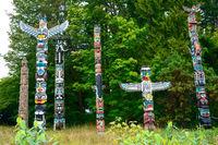 Totem Pole im Stanley Park
