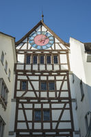 The town gate, called Untertor in the old town of Stein am Rhein
