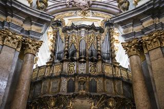 Brandenstein Orgel im Kloster Weltenburg