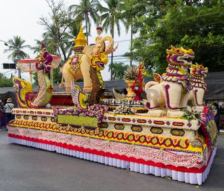 Chiang Mai Flower Festival at Suan Buak Hat Park
