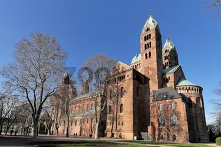 Dom Speyer seitlich