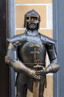 Knight armour.